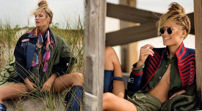 Toni Garrn – Elle Italy Magazine Photoshoot (December 2017)