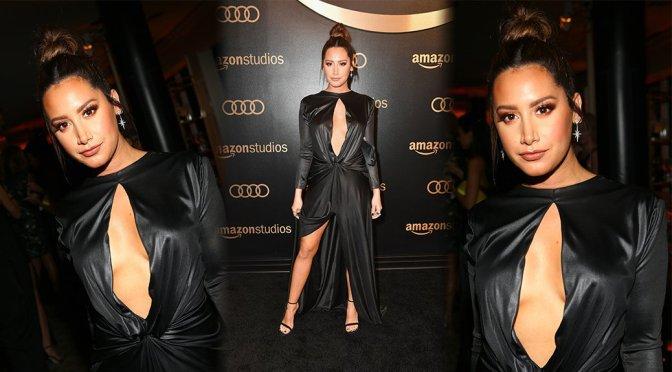 Ashley Tisdale – Amazon Studios' Golden Globes Celebration in Beverly Hills