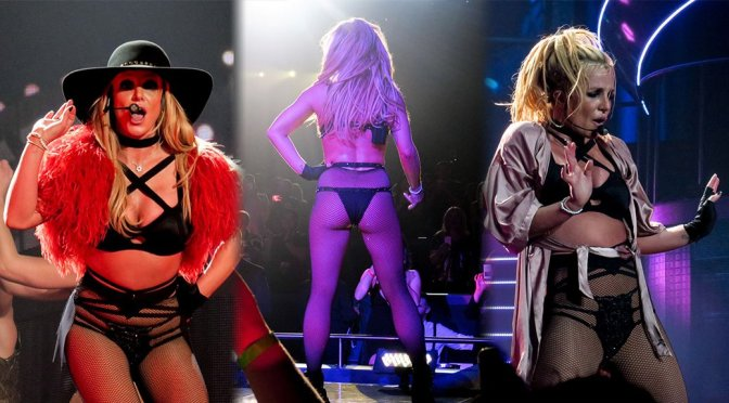 Britney Spears Performs Live in Las Vegas