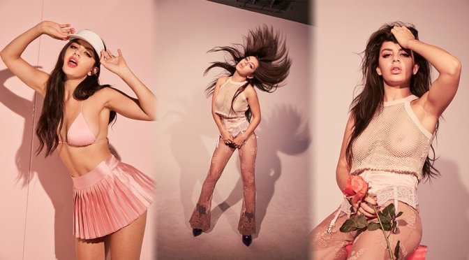 "Charli XCX – ""Number 1 Angel"" Album Braless See-Through Photoshoot Outtakes"