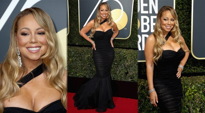 Mariah Carey – 75th Annual Golden Globe Awards in Beverly Hills