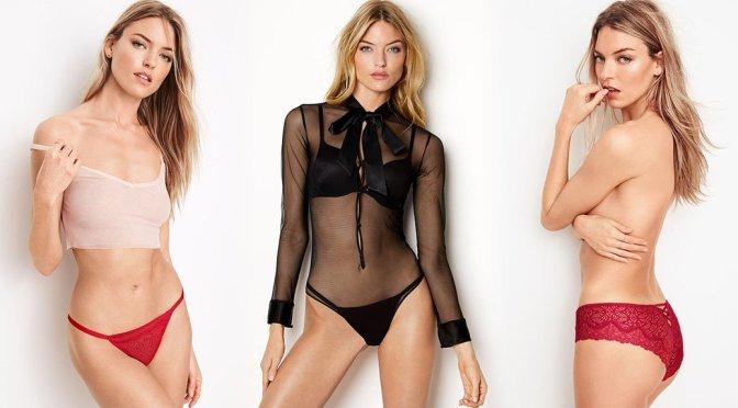 Martha Hunt – Victoria's Secret Lingerie Photoshoot
