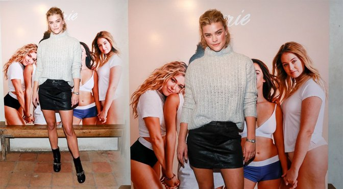 Nina Agdal – AerieREAL Role Models Party in New York