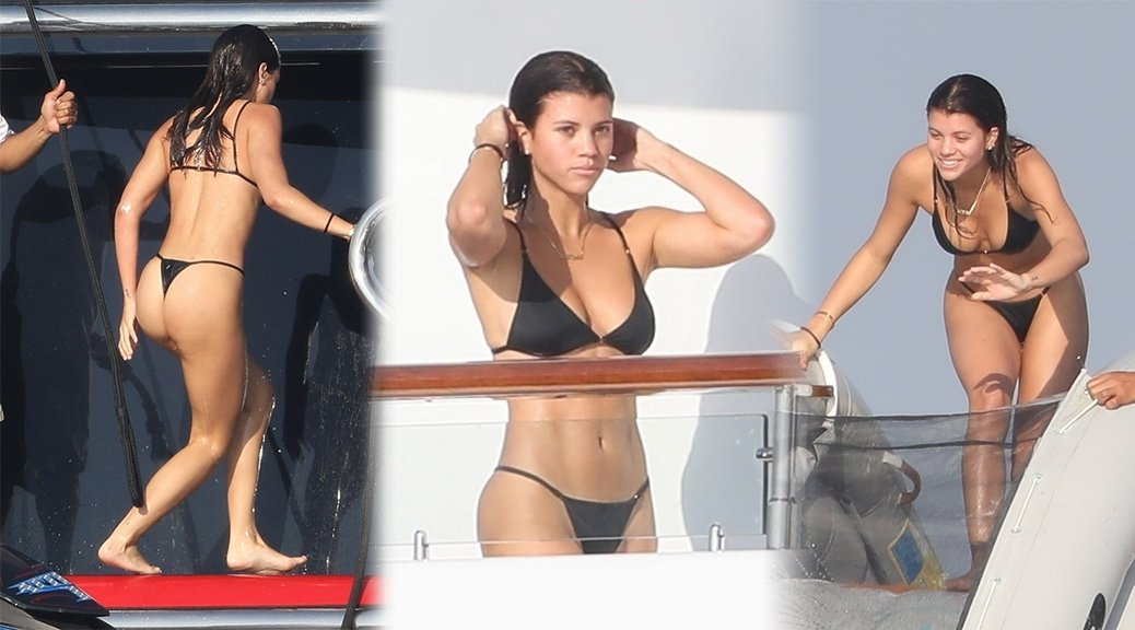 Sofia Richie - Bikini Candids in Mexico