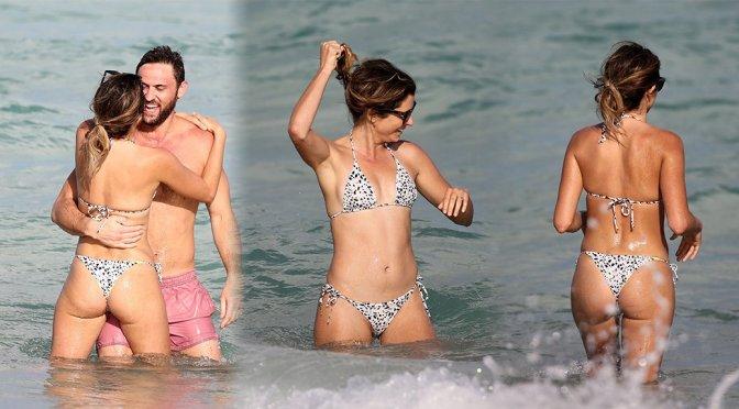 Anastasia Ashley – Bikini Candids in Miami