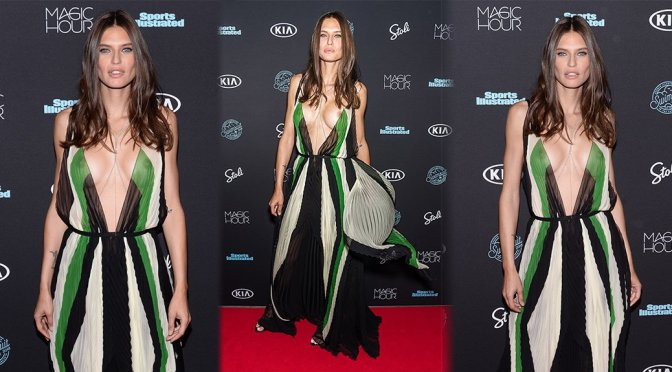 Bianca Balti – Sports Illustrated Swimsuit 2018 Launch Event