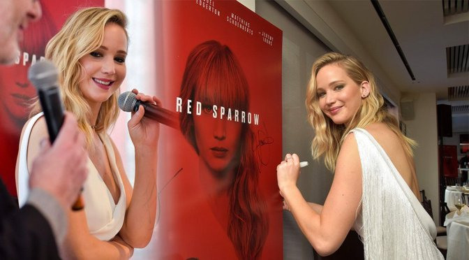 """Jennifer Lawrence – """"Red Sparrow"""" Luncheon in Washington"""