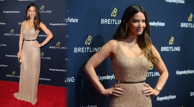 Olivia Munn – Breitling #LEGENDARYFUTURE Roadshow 2018 New York