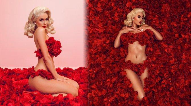 Paris Hilton – Valentine's Day Photoshoot
