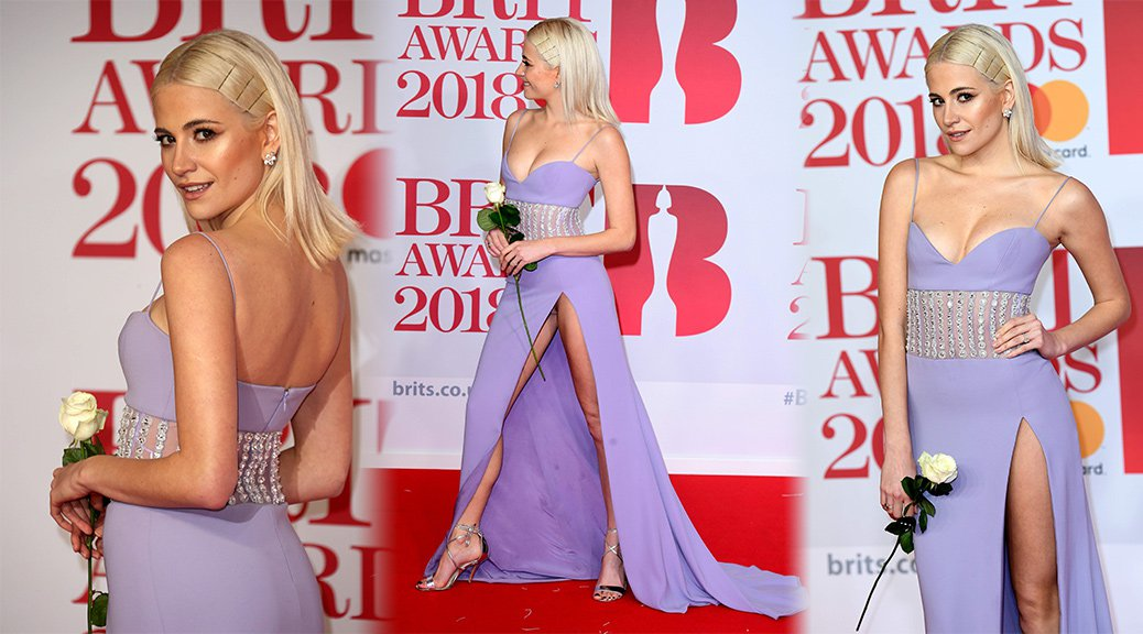 Pixie Lott - 38th Brit Awards in London
