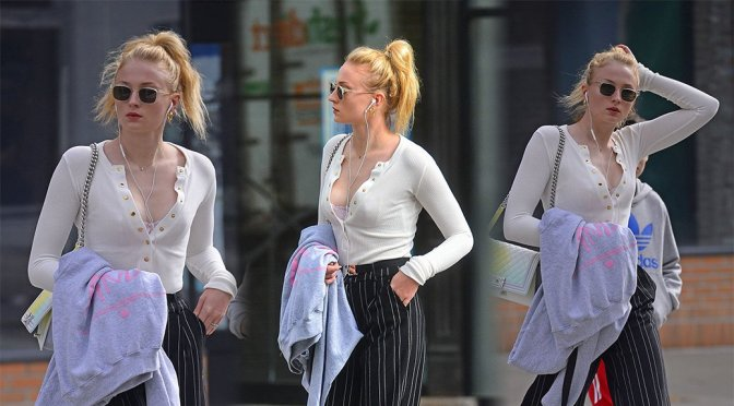 Sophie Turner – Candids in New York