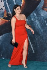 Ariel Winter Red Dress Boobs