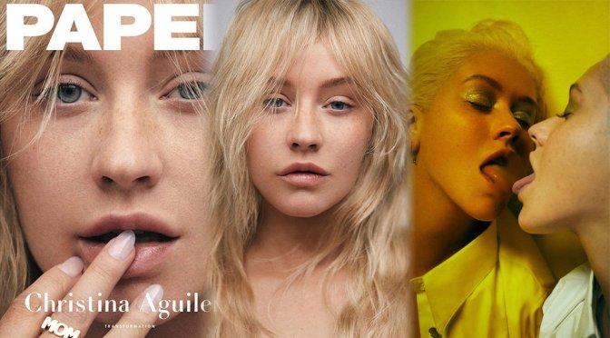 Christina Aguilera – Paper Magazine Photoshoot (Spring 2018)