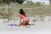 Claudia Romani Pink Bikini