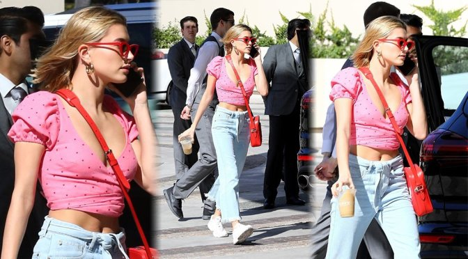 Hailey Baldwin – Candids in Beverly Hills