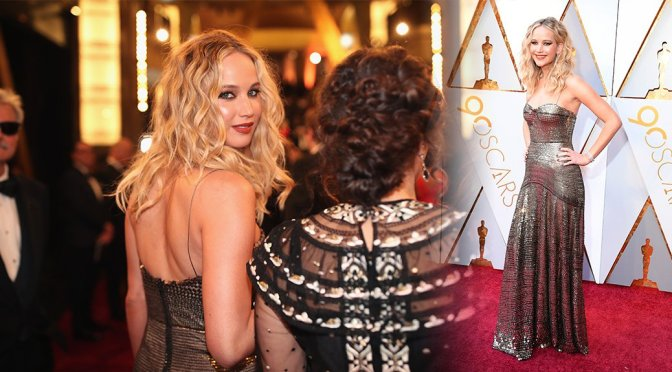 Jennifer Lawrence – 90th Annual Academy Awards in Hollywood