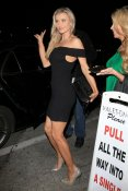 Joanna Krupa a dinner outing at Craig's restaurant in West Hollywood