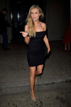 Joanna Krupa Black Dress