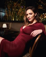 Katharine Mcphee Sexy Red Dress