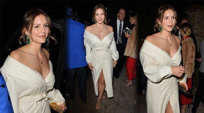 Katharine McPhee – WME Oscar Party in Los Angeles