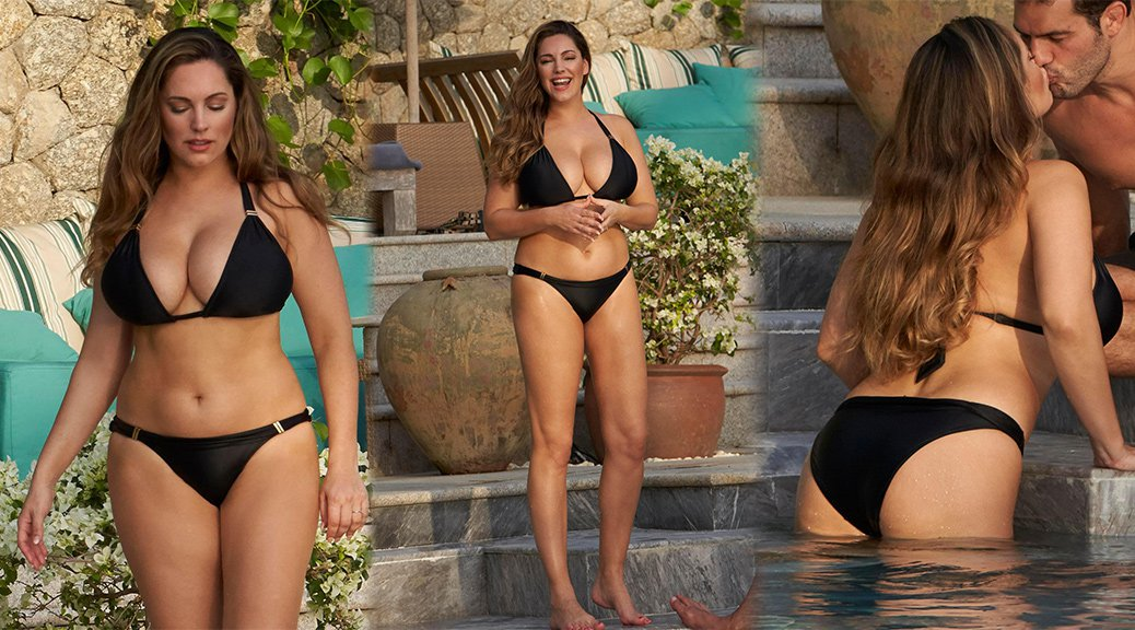Kelly Brook - Bikini Candids in Phuket