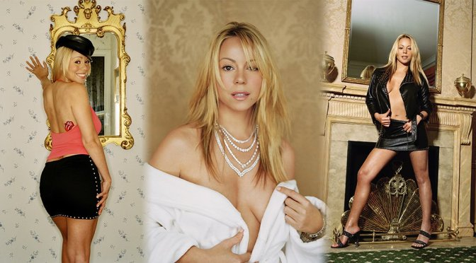 Mariah Carey – TBT Movieline Magazine 2001 Photoshoot