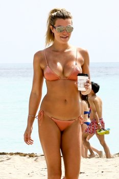 Samantha Hoopes Small Pink Bikini