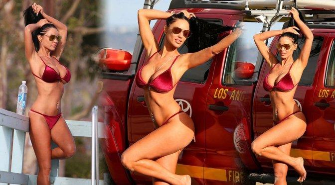Charlie Riina – 138 Water Bikini Photoshoot in Malibu