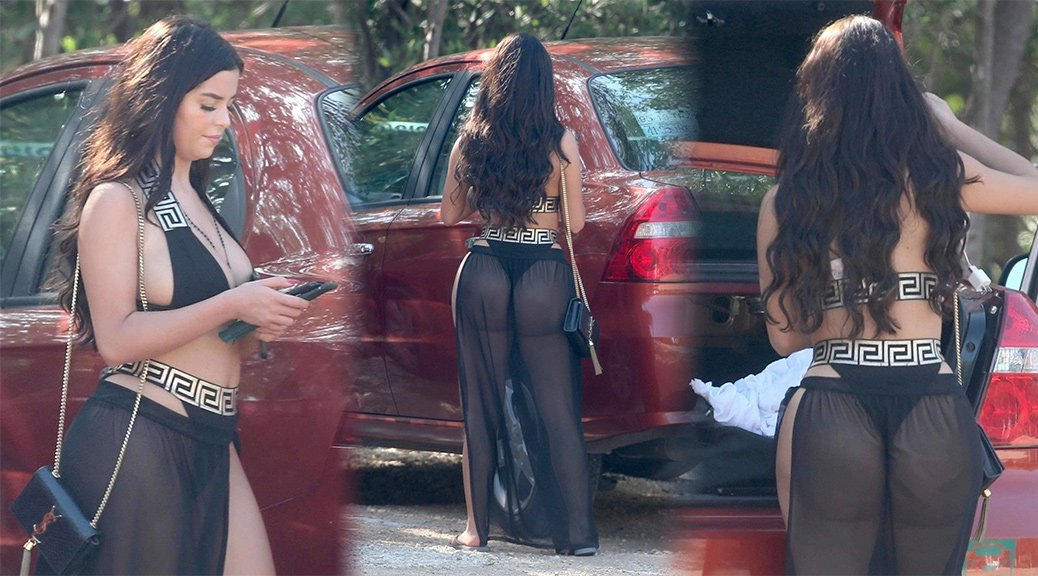 Demi Rose - Candids in Tulum