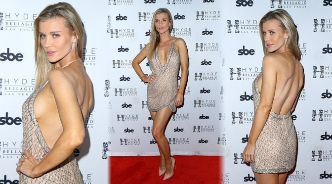 Joanna Krupa Sexy Braless Appearance