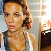 Kate Beckinsal Sweaty Selfie