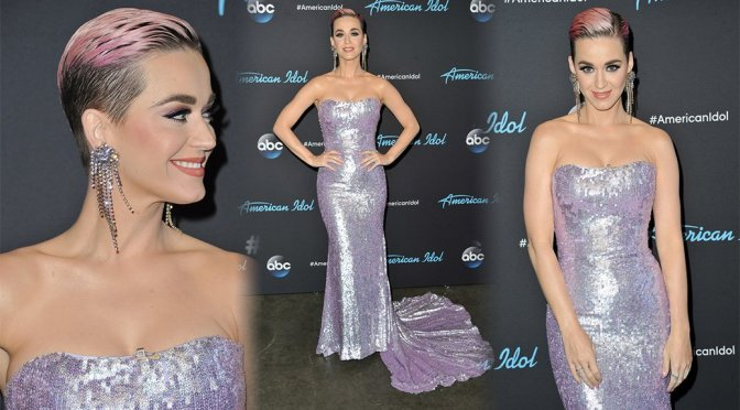 """Katy Perry – """"American Idol"""" Show in Los Angeles"""