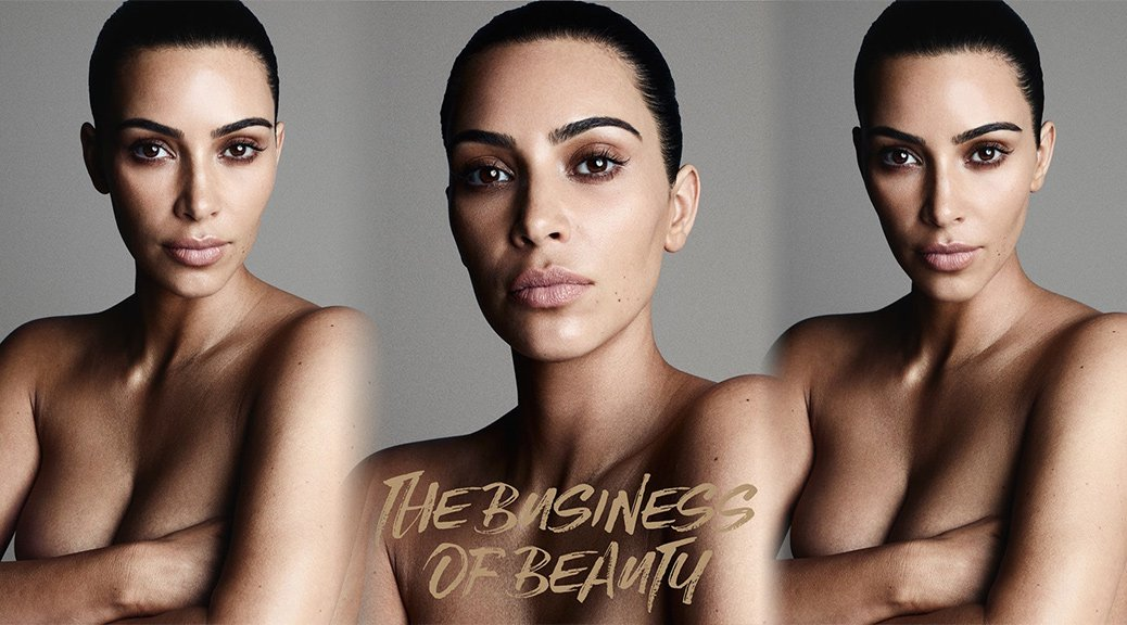 Kim Kardashian - Business of Beauty 2018 Photoshoot