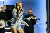 Miley Cyrus On Stage