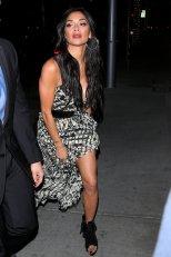 Nicole Scherzinger Sexy Dress