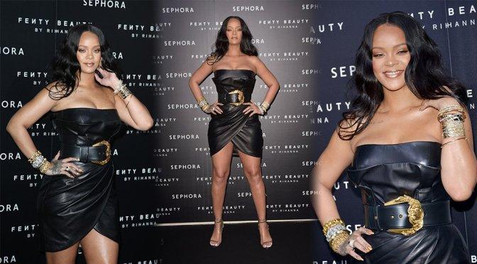 """Rihanna – """"Fenty Beauty"""" Launch in Milan"""