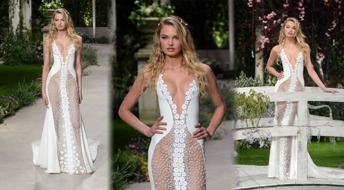 Romee Strijd – Atelier Pronovias 2019 Collection