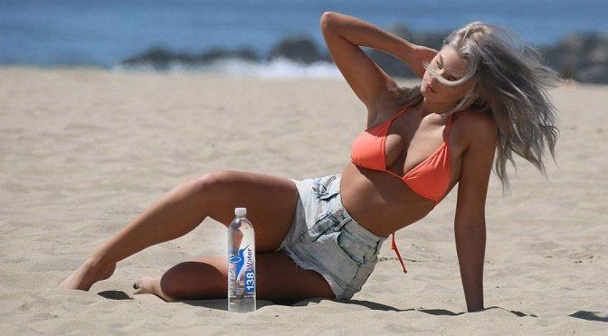 "Samantha Knezel – ""138 Water"" Bikini Photoshoot in Malibu"