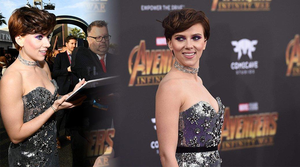 """Scarlett Johansson - """"Avengers: Infinity War"""" Premiere in Los Angeles"""