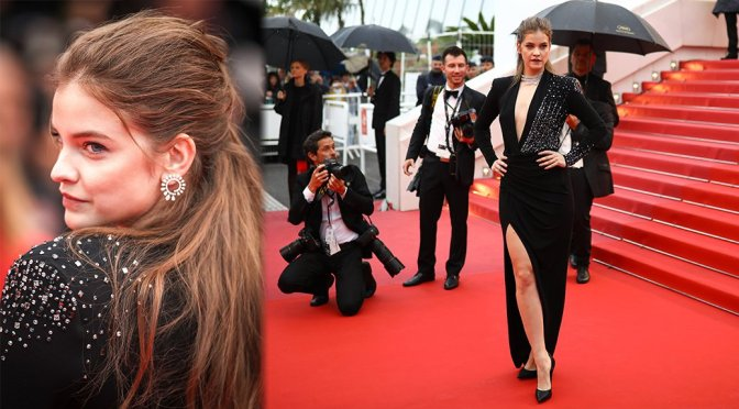 "Barbara Palvin – ""Burning"" Premiere in Cannes"
