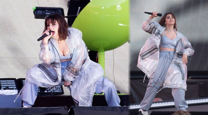 Charli XCX – Performs Live in Santa Clara