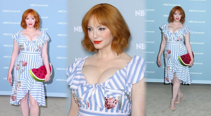 Christina Hendricks Big Boobs