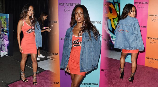 Christina Milian – PrettyLittleThing & Karl Kani Event in Los Angeles