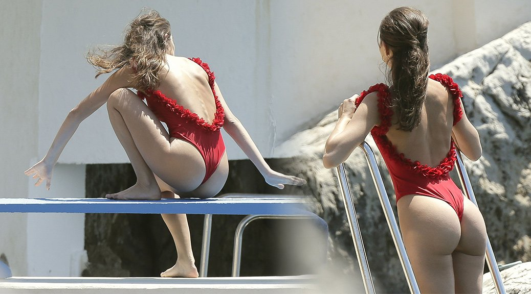 Daniela Lopez Osorio - Swimsuit Candids in Antibes