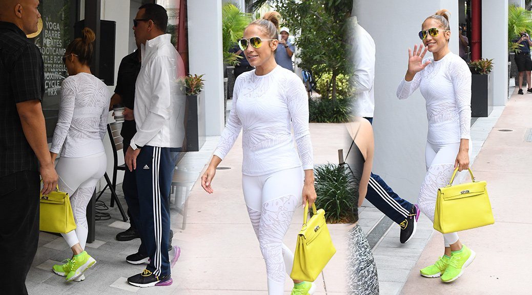 Jennifer Lopez - Candids in Miami