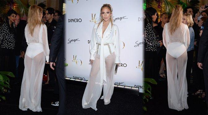 """Jennifer Lopez – """"Dinero"""" Single Release Party in Las Vegas"""