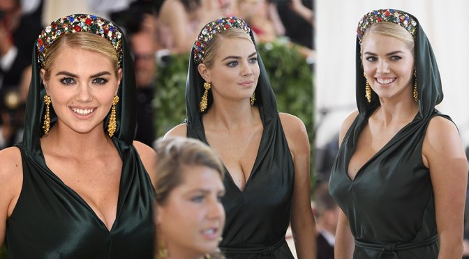 Kate Upton – 2018 MET Gala in New York