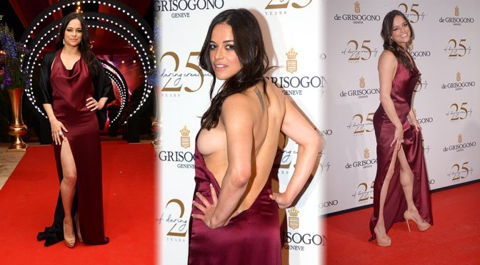 Michelle Rodriguez – De Grisogono Party in Cannes