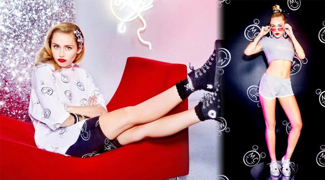 Miley Cyrus – Converse Chuck Taylor Photoshoot