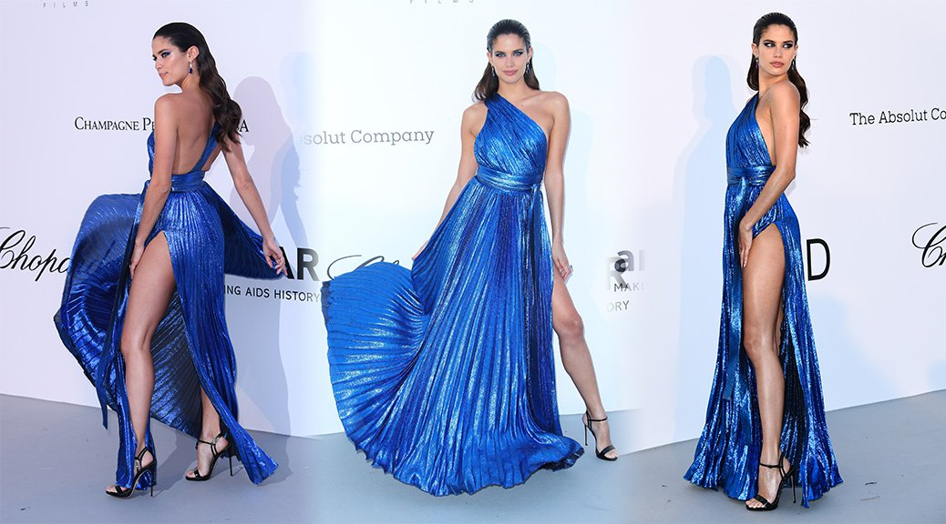 Sara Sampaio - amfAR's 25th Cinema Against AIDS Gala in Cannes